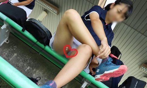 ★週末限定★【FHD&60fps】アイドルみたいなテニス少女のスコートの中身が丸見え…♡♡