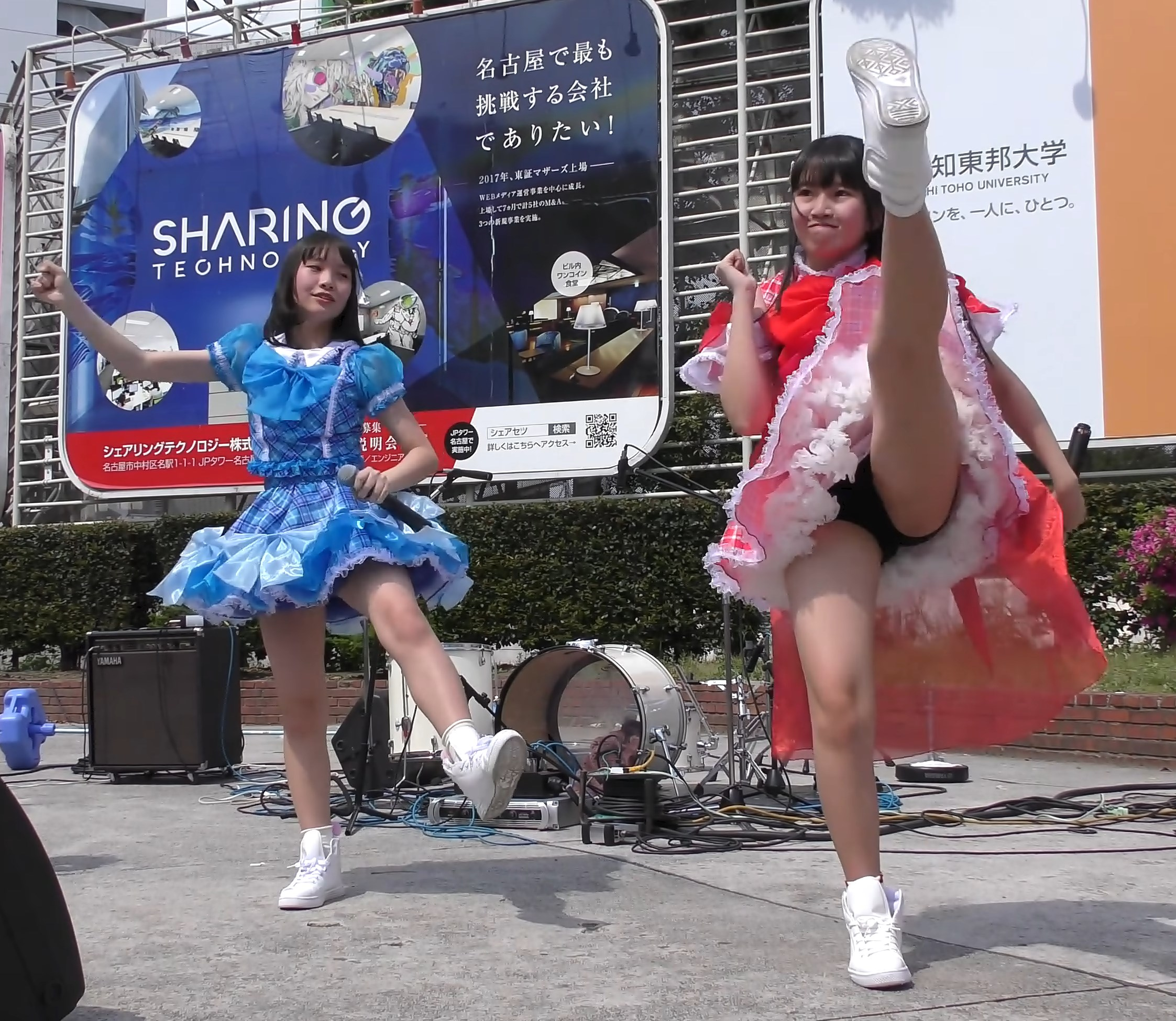 JS&JCローカルアイドルのブルチラシーン