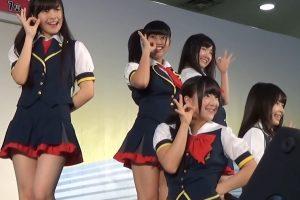 美少女アイドル『HR』のブルチラとハミパンエロ画像