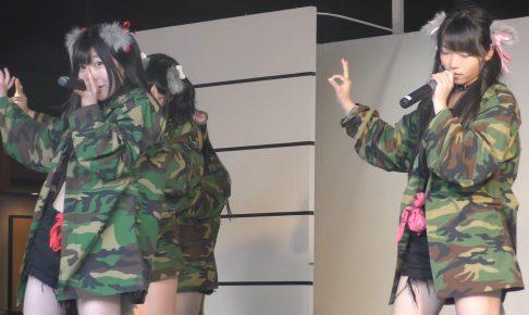 天王寺動物園アイドルAnimalBeastのショーパンからパンチラエロ画像