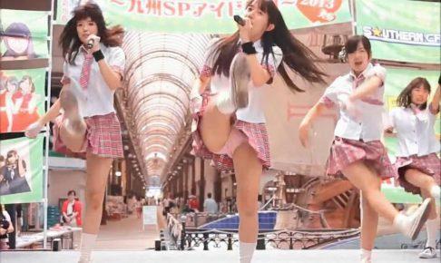 パンチラしまくり熊本アイドルの商店街ライブ最終回!
