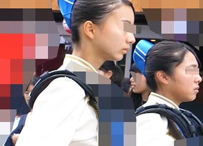 【ろーあんぐる】お嬢様学校の美麗マーチングパレードを見上げ撮り【レビュー】