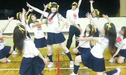 制服JKグル―プがハレ晴れユカイ踊ってみたでパンチラしまくりww