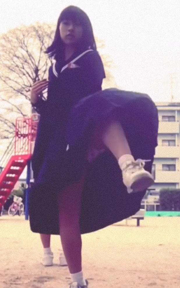 【見えちゃうと思いつつ】激カワ!ハイキックパンチラ特集!