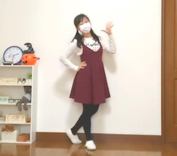 【YouTube】JCくらいの娘が黒タイツでスイートマジック踊ってみた動画!