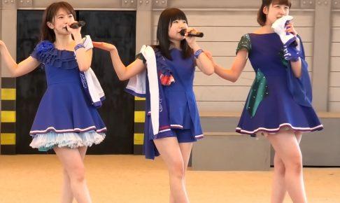 福岡のローカルアイドルのショーパンの股間が破れてパンチラするハプニング