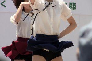 高画質!透けてる!スカート最高です!!P-2【高画質動画】
