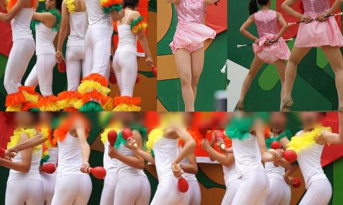 hipfive2 【お嬢様JKダンス】ミニスカとおパンツ透け透けピタパン!! 【レビュー】
