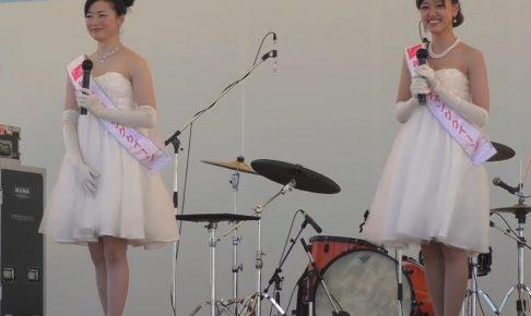 ミスコン優勝美女のスカートをめくり上げる風のいたずら!ラッキースケベの原点をこの動画に見た!