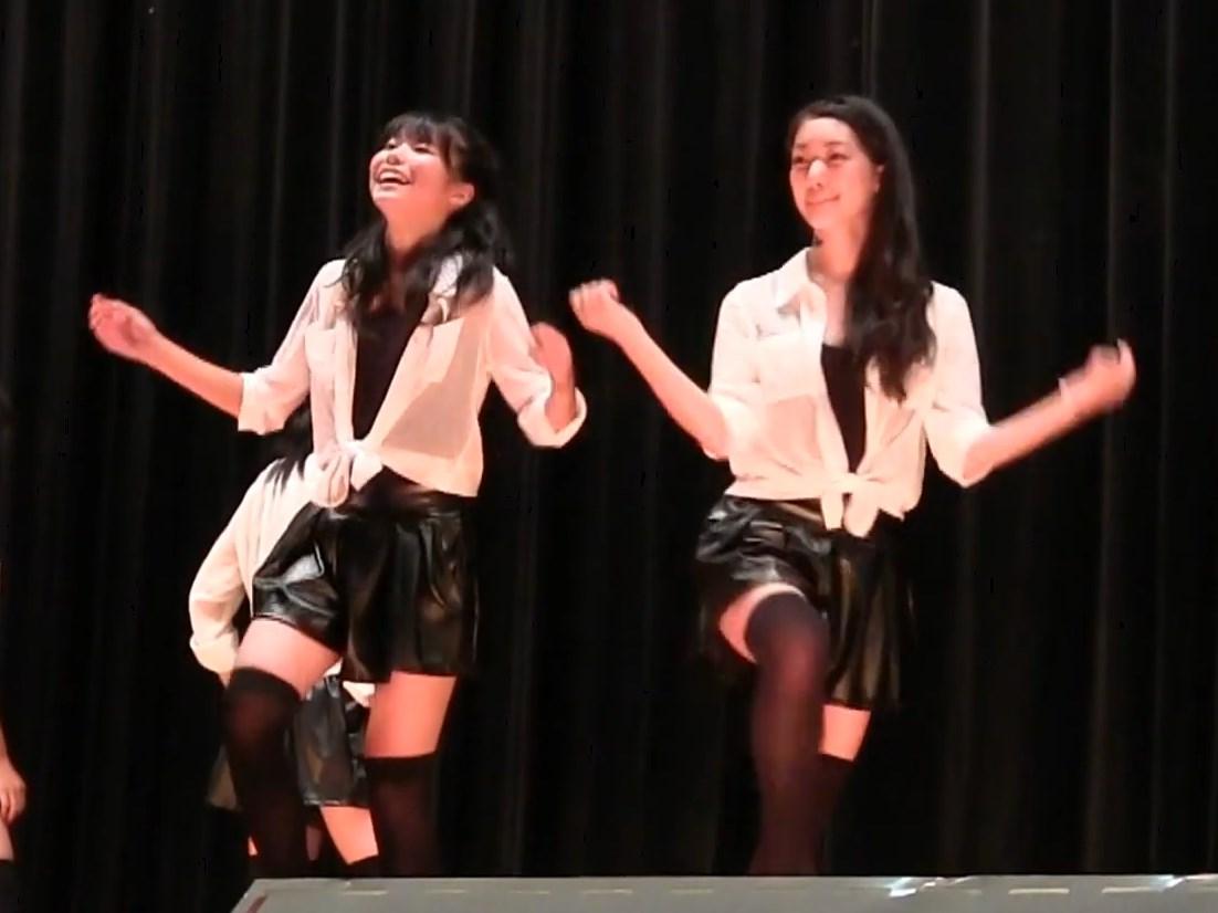 高校文化祭のダンス部発表会で1人だけキュロットスカートの下が生パンツな件