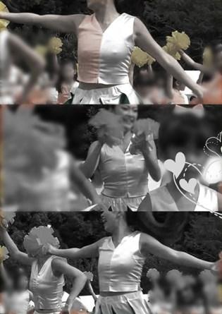 おぱい♡ぽちぽちチアダンス