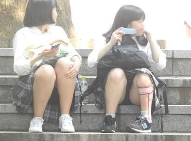 可愛いロリパンが見えてます!!(FHD)Cちゃん!!大変です!!パンツが見えてますよ特別編31