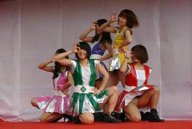 大学学園祭ライブ!ももクロ衣装でのアイドルコピーダンスで履き忘れパンチラ