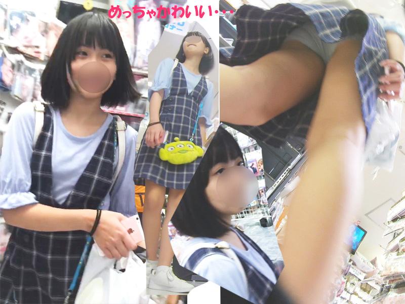 わんぱく液:ガチで可愛いSSS級美少女達を逆さ撮りしたww【おまけ有4k】