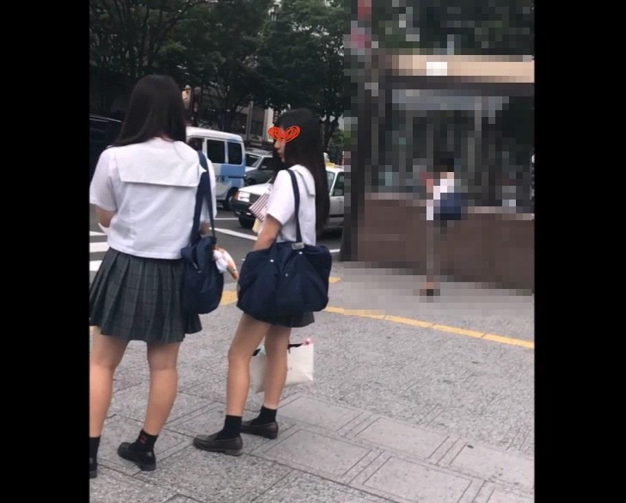 JK風06〜マジカワJKちゃん2名。薄紫と純白P〜 画像つき詳細レビュー