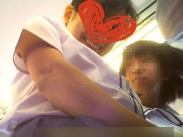 YMK:JK盗撮逆さ撮り005【顔出し】