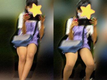 彩:【Cute世代超美少女!健康的生足!】見つめていたい!