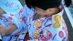 munech:胸ちら動画 No.165 浴衣美女のセクシーな胸元