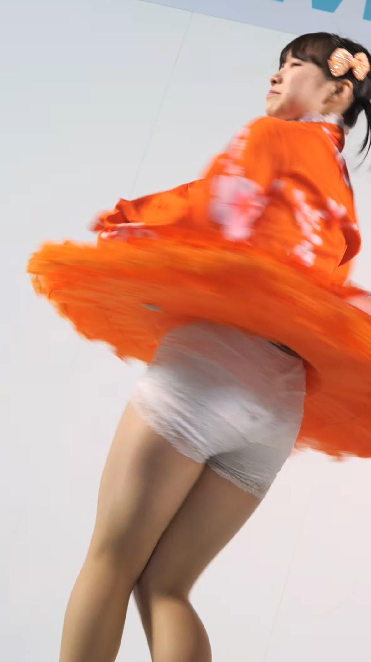 激カワローカルアイドルのペチパンずり下がりハプニング