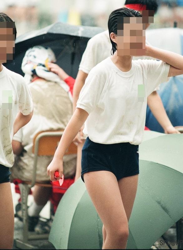 雨の中のびしょ濡れブルマ運動会【MICK88:若さでGO!c277】