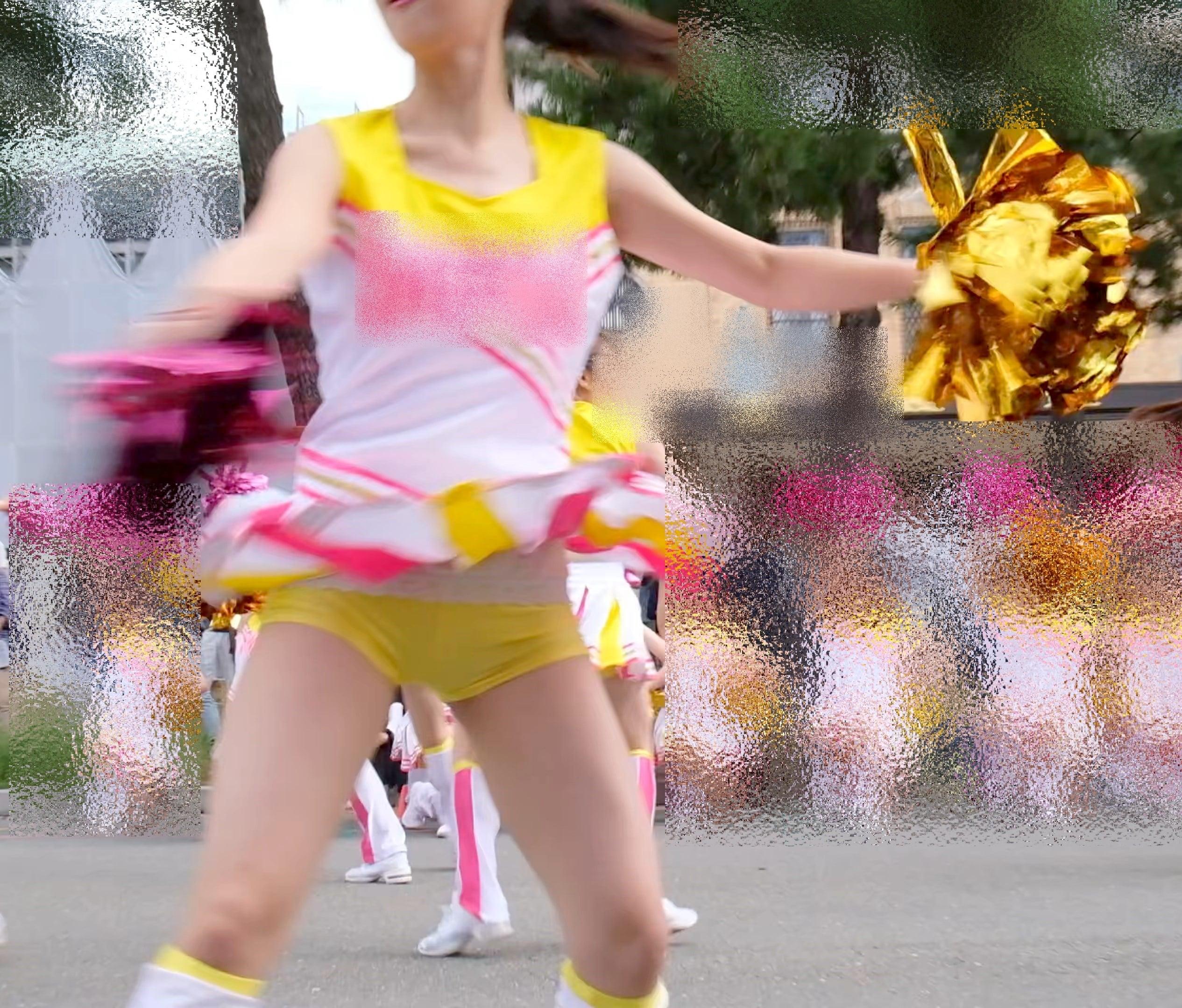 【4Kチア】☆☆アイドルより可愛い!!JDチアダンス!4☆Part2☆画像つき詳細レビュー