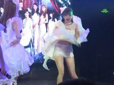 【モンローパンチラ】AKB48の姉妹アイドルグループ、とんでもなくエロいイベントをやっていたwww