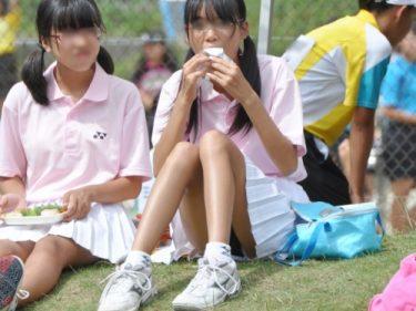 テニスの試合でのCUTEな美脚女子たちの肌の質感まで分かる高画質写真集130枚:pepeのテニス美脚女子vol.1
