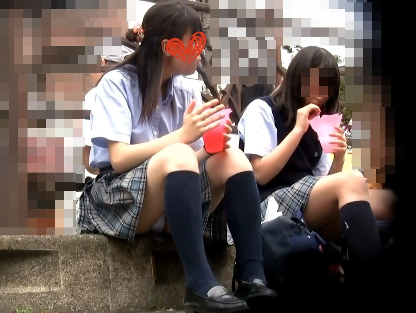 可愛い優等生J○の祭りでのお座り画像つき詳細レビュー