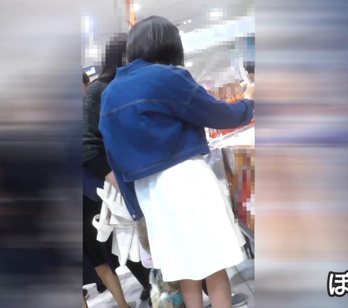 <新作>私服ちゃんたちのかわいい綿パンツを拝見・一部バレ編(No.38)画像つき詳細レビュー