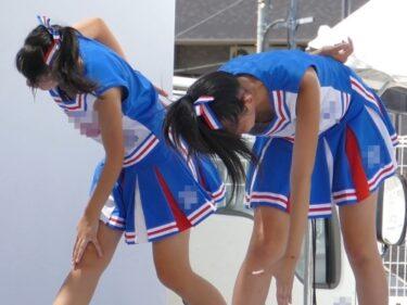 根強い人気の青色JKチアチームの4K動画3本セット(時雨:【4K】未収録チア動画 003)
