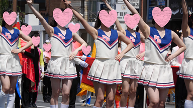 【4K】JO-001 めちゃくちゃ美少女なチアの本番前の無防備な姿!! おまけも収録!!