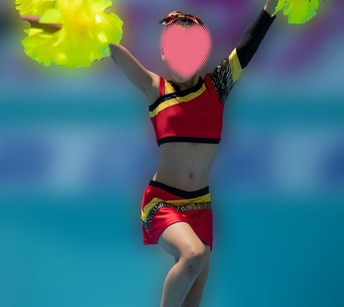 【写真高画質】チア37 世界を元気にするスレンダーチアのラインダンス!画像つき詳細レビュー
