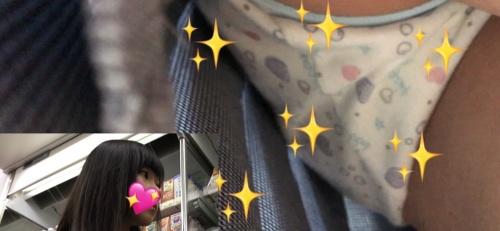 髪がとっても綺麗なお嬢様は制服の下に可愛い生キャラPでした! JK13-4K