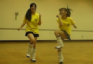 踊ってみた!JKパンチラダンス☆